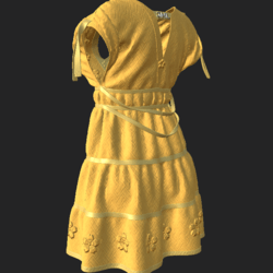 DROMA DRESS YELLOW