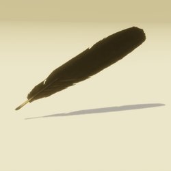 Raven Feather Quill