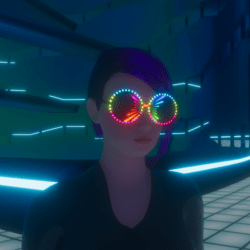 UNISEX_ PARTY_ GLASSES_ RAINBOW ANIMATED EMISSIVE
