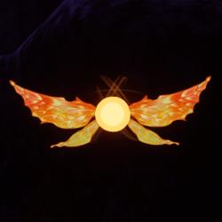 Orange Pixie Pet [Earing Slot]