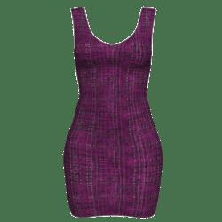 Woman Simple Dress - Boucle