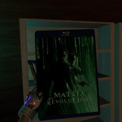 matrix revolutions bluray case