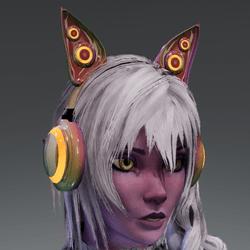 Anubis headphones HOLO-05L