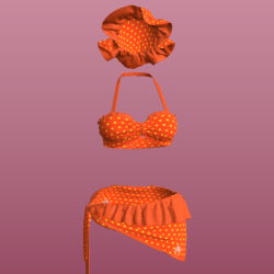 SUMMER OUTFIT_ ORANGE_