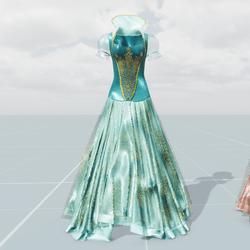 Queen's Dress(Aqua Disney)