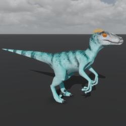 Raptor Avatar - Minty Chameleon