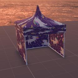 Tent/MarketStall/Gazebo (Unicorn)
