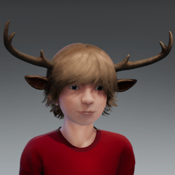 Sweettooth Gus Antlers
