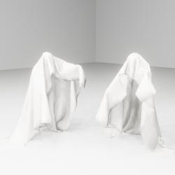 Phantom Bed sheet