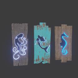 Panel lamps X3