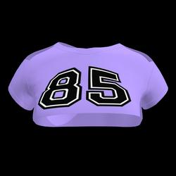 Sexy 85 Crop Top (Violet)