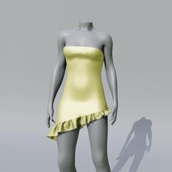 SUZY Brimestone Asymetrique Dress