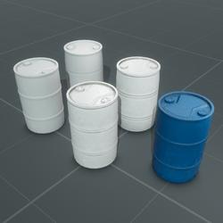 Water Barrel Set | HDPE