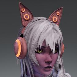 Anubis headphones RD