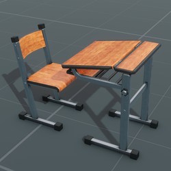 Chair and Desk Set