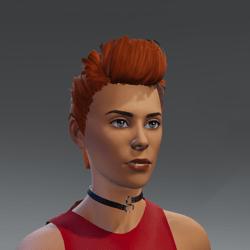 TKA Rocker hair woman