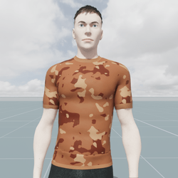 Military Sand Camouflage T-Shirt