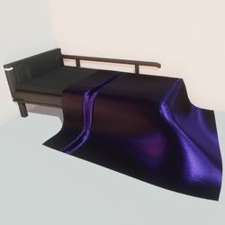 Modern bed - prp