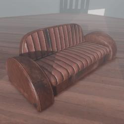 Deco Couch 2.0 Grunge Version
