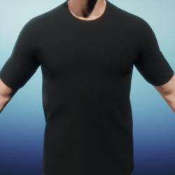 [US] Black T shirt
