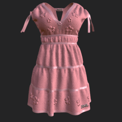 DROMA DRESS PINK