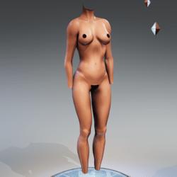 Kismet Body 2B with wet skin by Apocalypse Bunnies