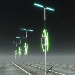 Animated Futuristic Led Lamp