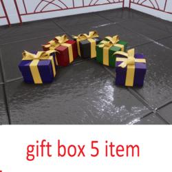 gift box 5 color