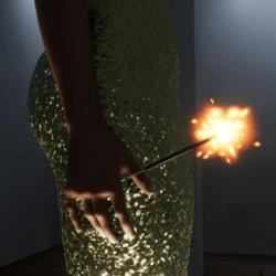 Sparkler gold