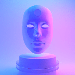 Famale Mask - mental.os() Universe