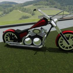Red Bike Attachment