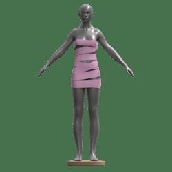 Wrap Dress Pink