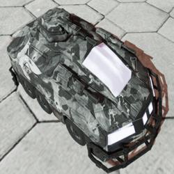 Armored Assault Vehicle Snow Camo