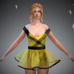 Tully Yellow Tart Ballerina