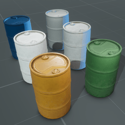 Water Barrel Set   HDPE