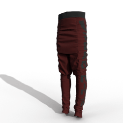 Urban Ninja Pants (male/red)