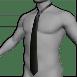 Tie / Cravat black