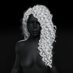 Sandra Hair - White