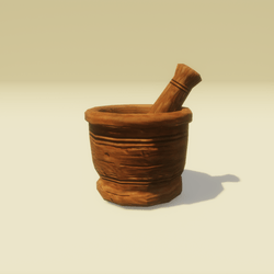 Vessel with a Pestle