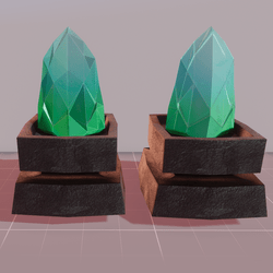 MMO Green Crystals
