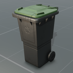 Recycling Bin | Animated | Tintable