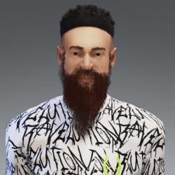 Long Beard (BROWN)
