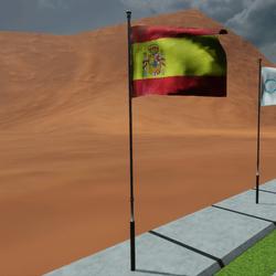 TKA Animated flag Spain