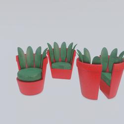 Chair Vase